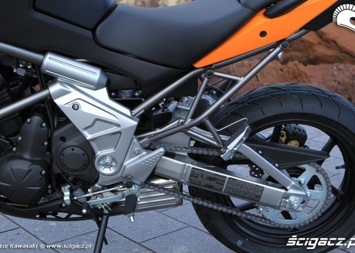 Kawasaki Versys tylny zawias