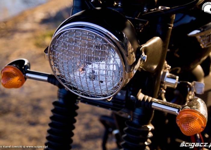 lampa z kratka Triumph Scrambler 2011