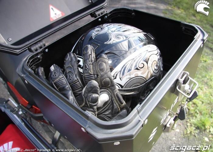 top case Suzuki DL650 test