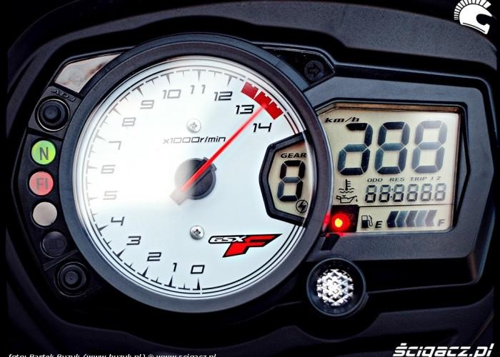 suzuki gsx650f zegary i wskazniki