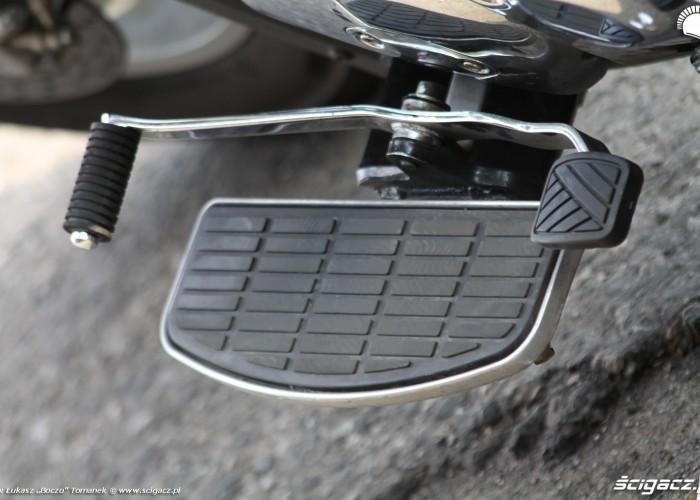 podest zmiana biegow Suzuki Intruder C1800R