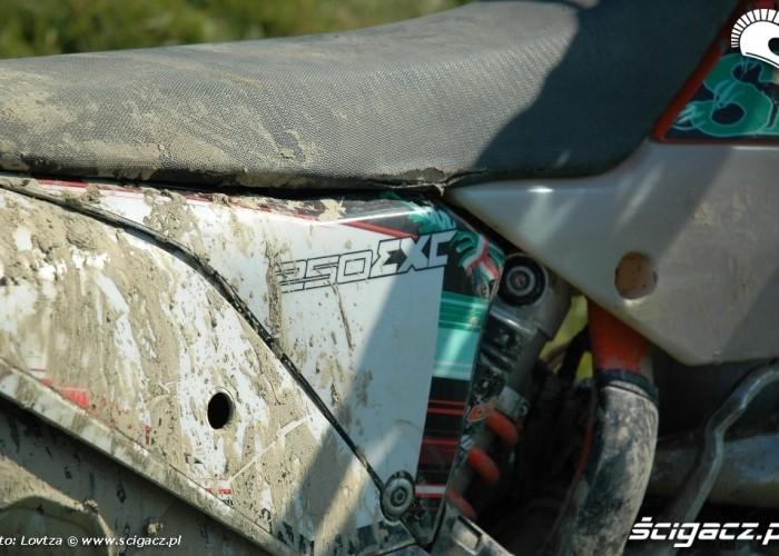KTM EXC250 2010 plastiki