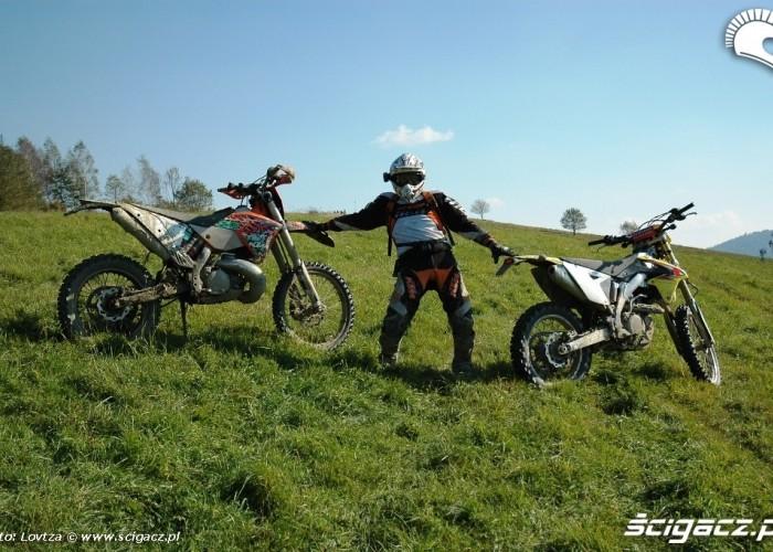 Suzuki RMX450Z KTM EXC250