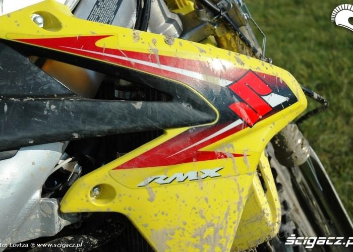 Suzuki RMX450Z boczek
