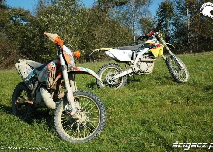 Suzuki RMX450Z i EXC250