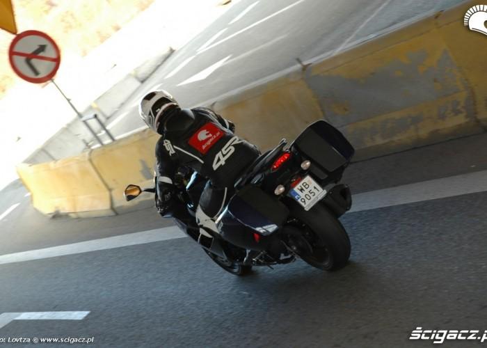 Triumph Sprint GT 2011 ruch