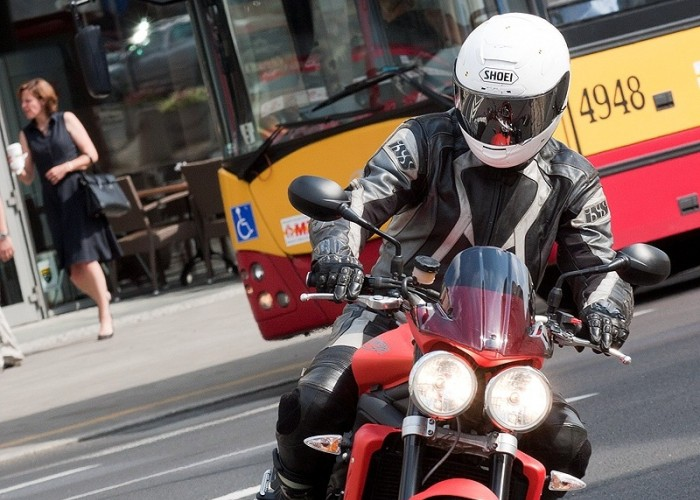 miejska jazda street tripple r triumph test 0199