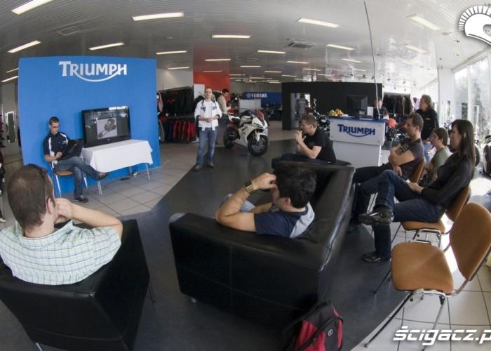 Triumph Thunderbird prezentacja