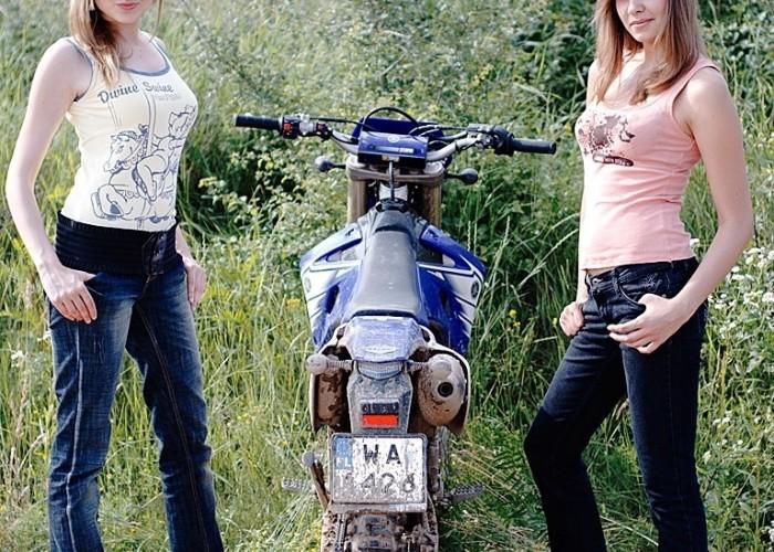 Yamaha WR 450F i laski