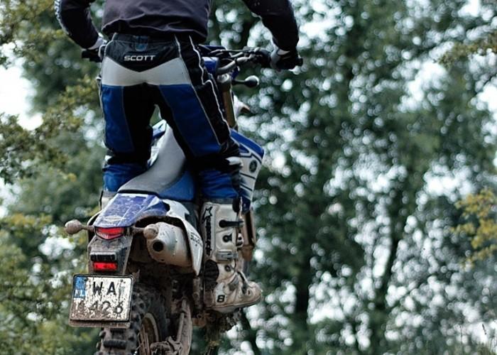 Yamaha WR 450F na kolku