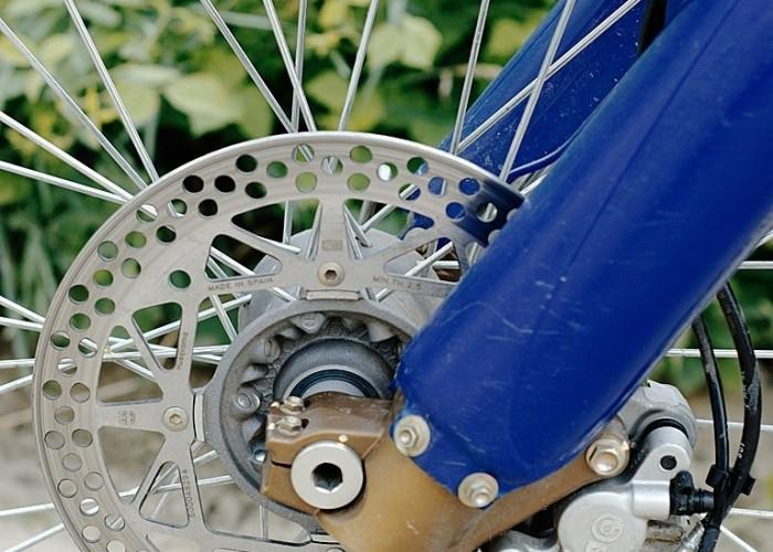 hamulec Yamaha WR 450F