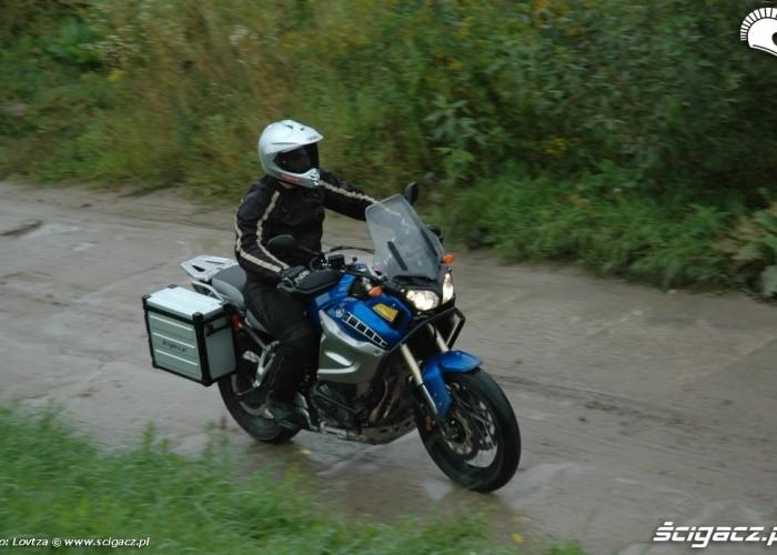komfort prowadzenia Yamaha XT1200Z Super Tenere