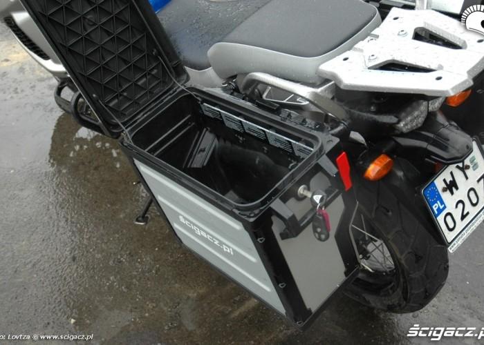 kufer otwarty Yamaha XT1200Z Super Tenere