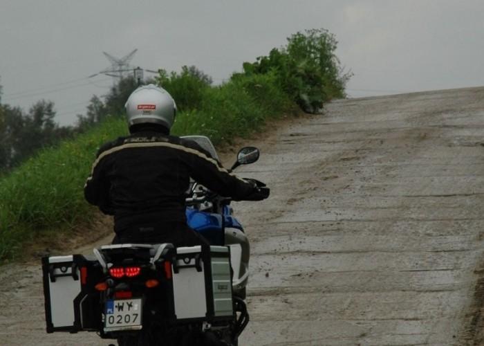 natarcie podjazd Yamaha XT1200Z Super Tenere