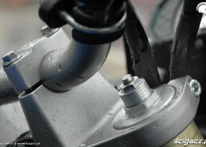 regulacja zawias przod Yamaha XT1200Z Super Tenere