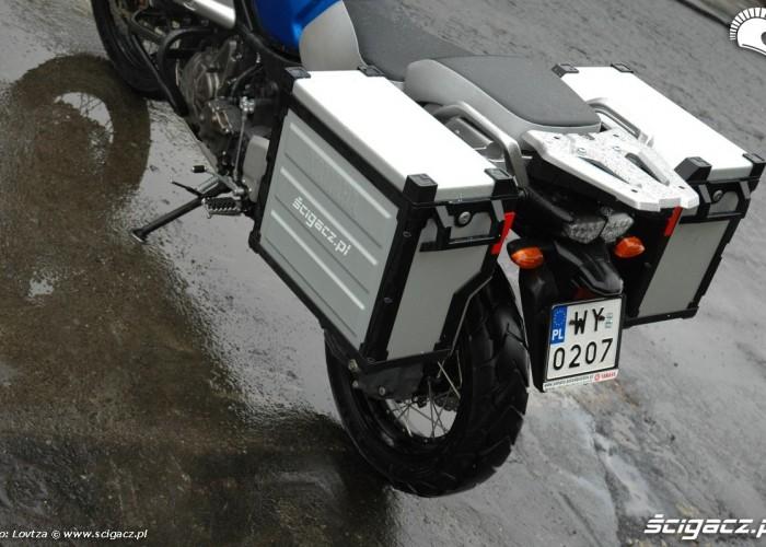 tylna sekcja Yamaha XT1200Z Super Tenere