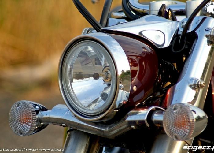 Yamaha XVS950 statyka lampa