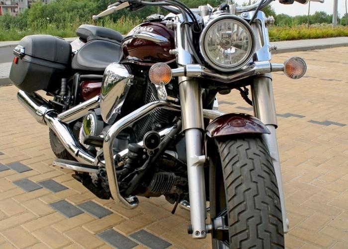 Yamaha XVS950 statyka prawy przod