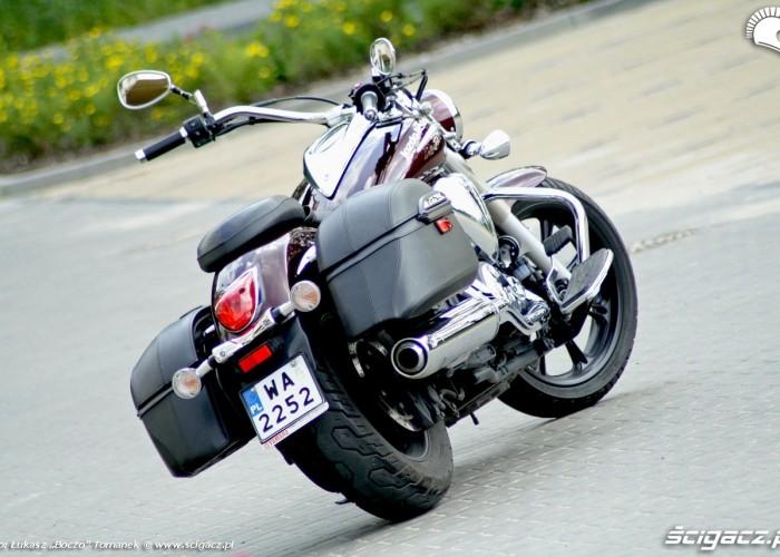 Yamaha XVS950 statyka prawy tyl