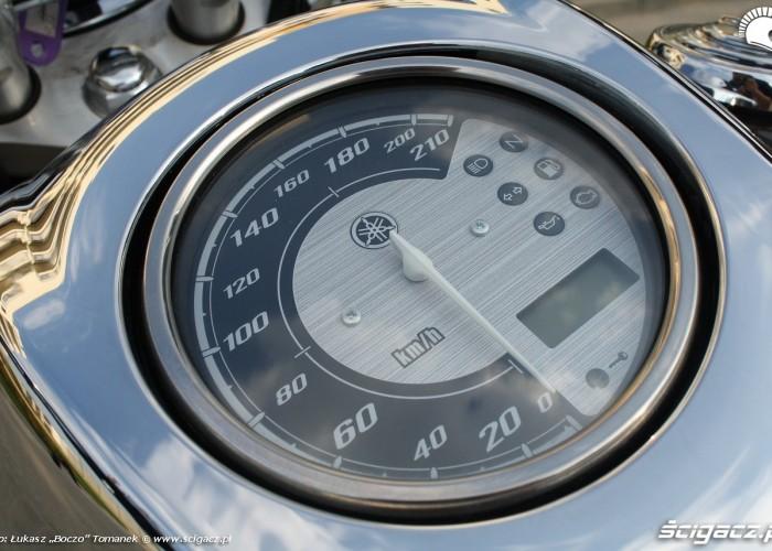 Yamaha XVS950 statyka predkosciomierz