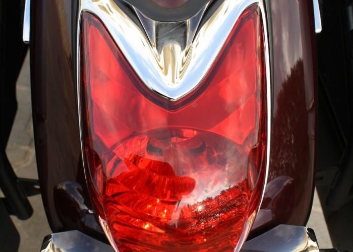 Yamaha XVS950 statyka tylna lampa