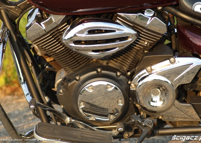 Yamaha XVS950 statyka v2