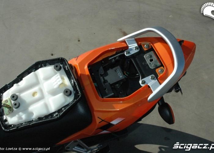 Zipp Nitro 250 2010 bagaznik