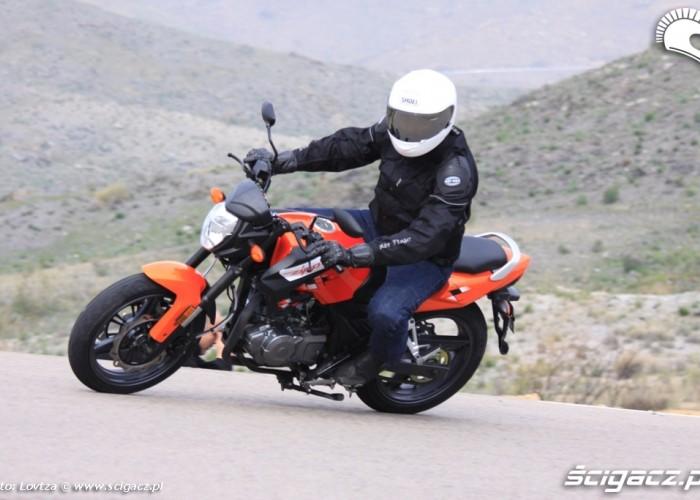 Zipp Nitro 250 jazda w gorach