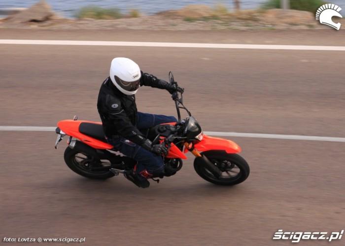 Zipp Tracker 250 Supermoto szybki prawy