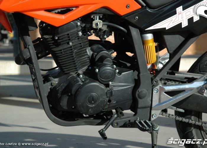 Zipp Tracker 250 silnik lewy bok