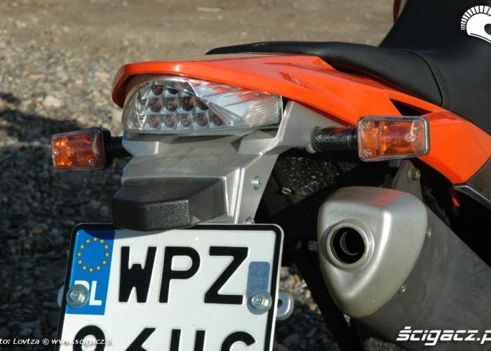Zipp Tracker 250 tylna lampa