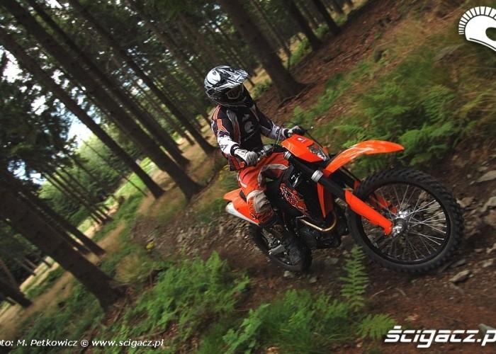 EXC R 530 2008 w lesie