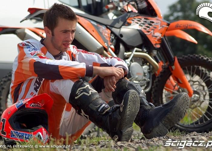 Mateusz Bembenik KTM EXC R Test
