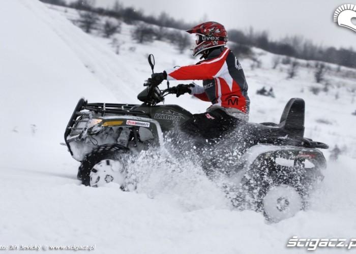 Arctic Cat 700 TRV H1 EFI test zimowy