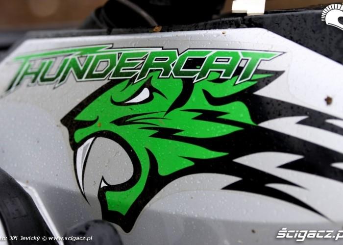 Arctic Cat ThunderCat 1000 logo naklejka