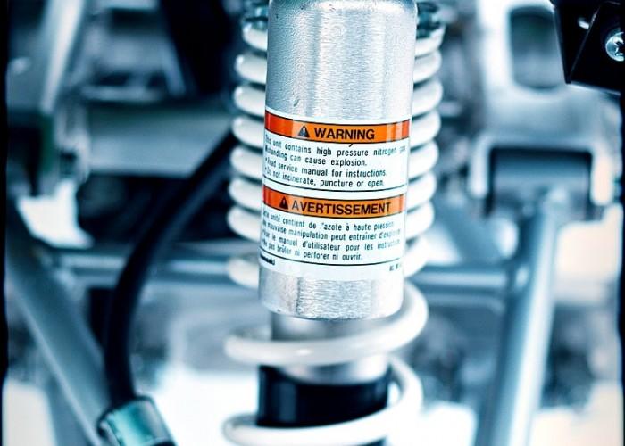 Kawasaki KFX450R amortyzator przod