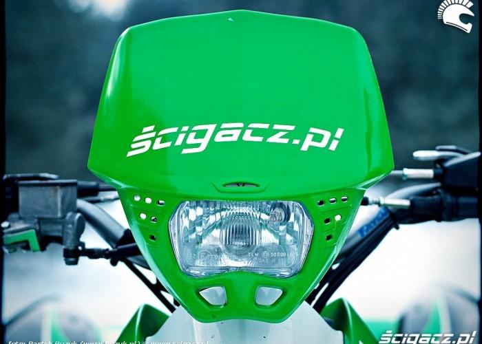 Kawasaki KFX450R czacha