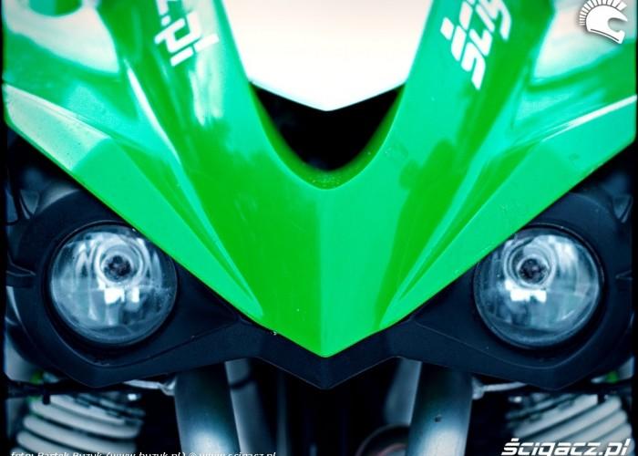 Kawasaki KFX450R dziobek