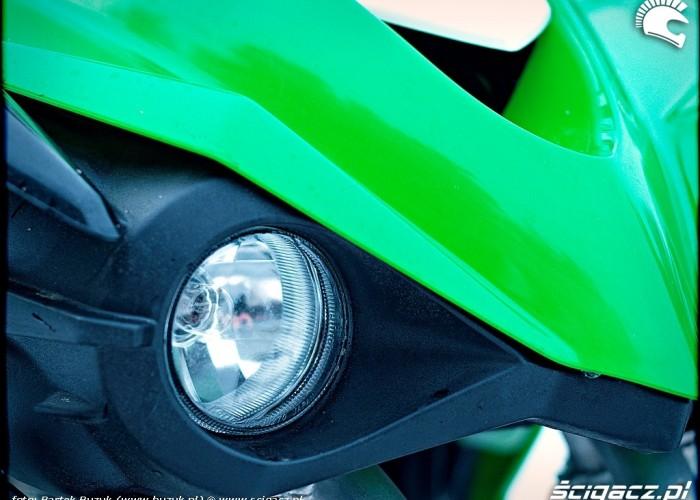 Kawasaki KFX450R lampa przod