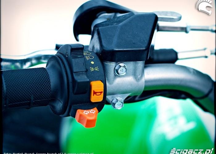 Kawasaki KFX450R przelaczniki