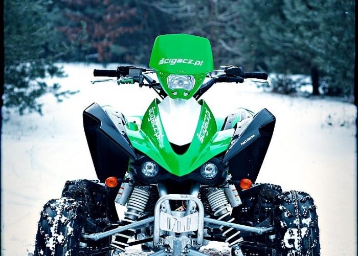 Kawasaki KFX450R przod