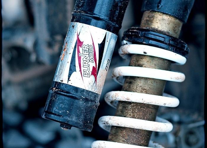 Lucky Star AM-SP450S przedni amortyzator gazowy
