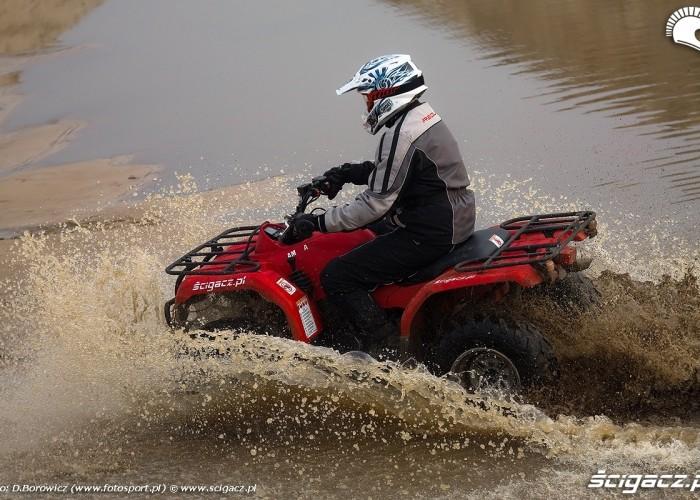 szybka jazda w wodzie grizzly 350 yamaha test a mg 0371