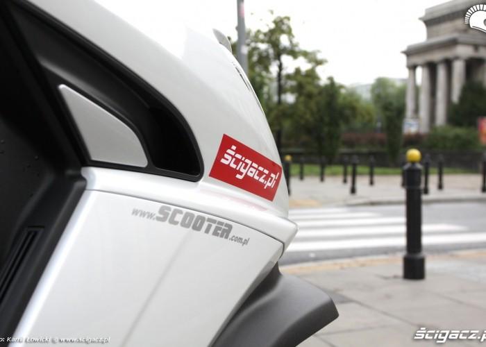 Peugeot Metropolis 400i owiewki