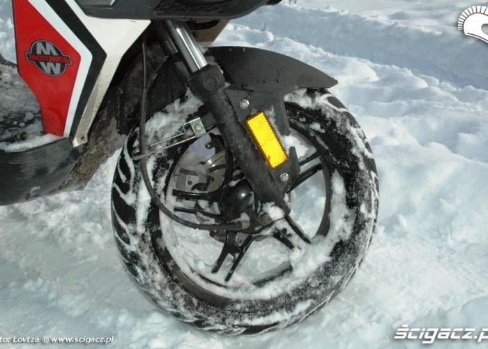Magnet RS przednie kolo i zawias