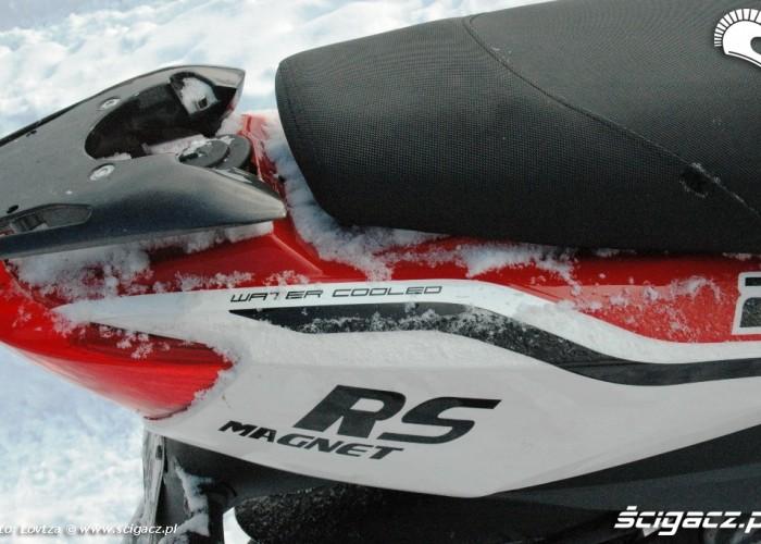 niebezpieczny zadupek Motowell Magnet RS