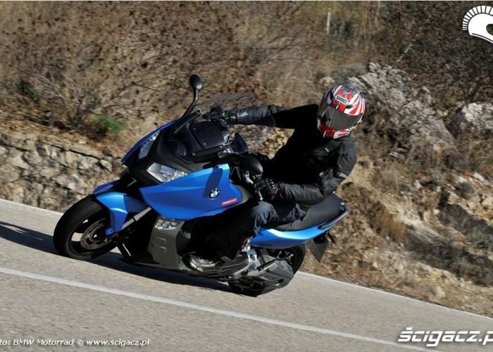 BMW C600 Sport 2012 w gorach