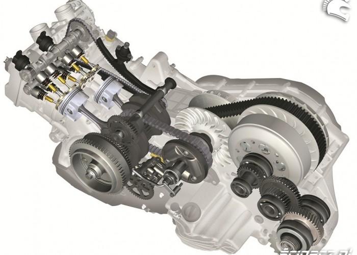 BMW C650 GT silnik