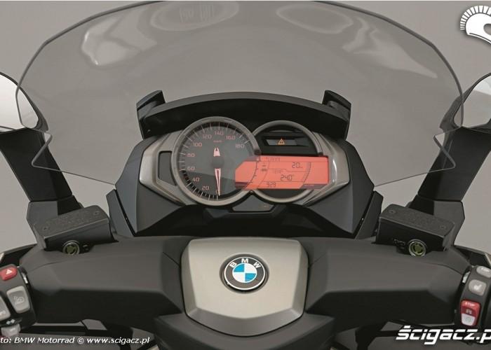 BMW C650 GT wskazniki
