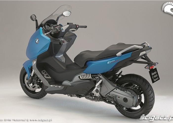 Maksiskuter BMW C600 Sport 2012 lewy bok